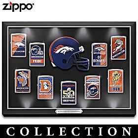 Legendary Denver Broncos Zippo® Lighter Collection