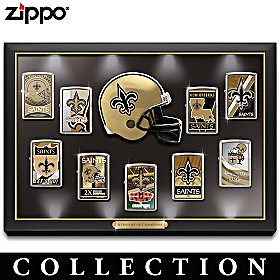 Legendary New Orleans Saints Zippo® Lighter Collection