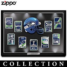 Legendary Seattle Seahawks Zippo® Lighter Collection