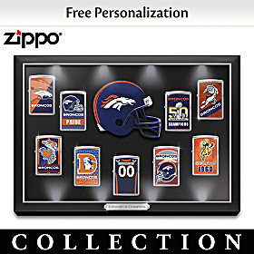 Denver Broncos Personalized Zippo® Lighter Collection