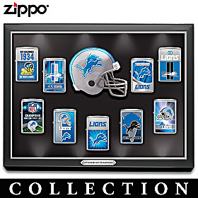 Legendary Detroit Lions Zippo® Lighter Collection