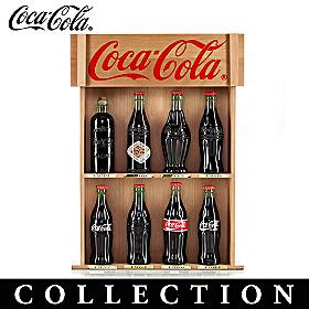 The COCA-COLA Replica Bottle Figurine Collection