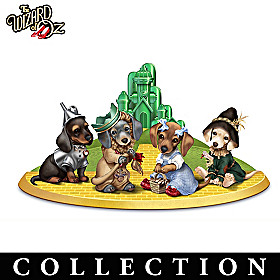 THE WIZARD OF OZ Dachshund Figurine Collection
