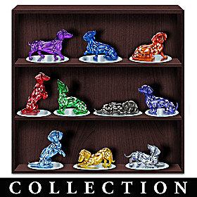 Rarest Gems Dachshunds Of The World Figurine Collection