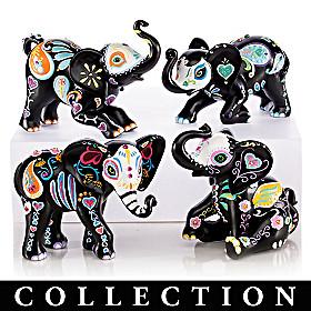 Blake Jensen Soulful Spirits Elephant Figurine Collection