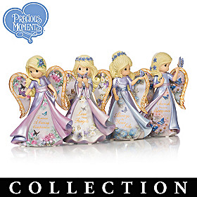 Lena Liu Butterfly Kisses Angel Figurine Collection