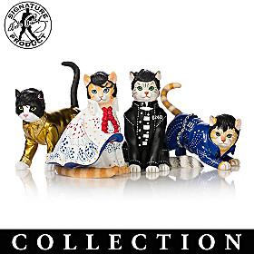 Elvis Purr-esley Figurine Collection