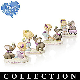 Precious Moments Caring Companions Figurine Collection