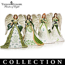 Thomas Kinkade Eternal Love Angels Figurine Collection