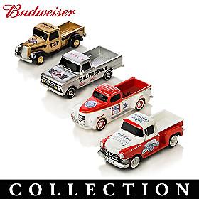 Budweiser Refreshing Rides Pickup Truck Sculpture Collection