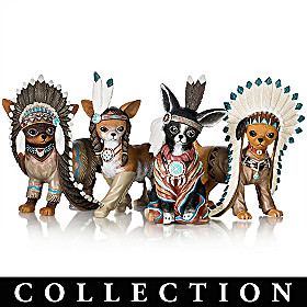 Feathers 'N Fur Chihuahua Figurine Collection
