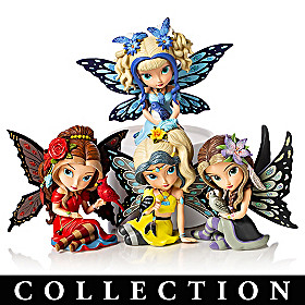 Jasmine Becket-Griffith Songbird Fairies Figurine Collection