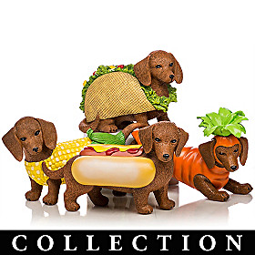 Bone Appetit Dachshund Figurine Collection