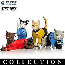 STAR TREK Space Cat Crusaders Figurine Collection