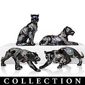 Virtuous Black Panther Figurine Collection