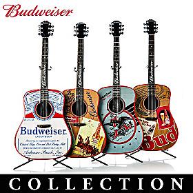 Budweiser Music And Memories Guitar Sculpture Collection