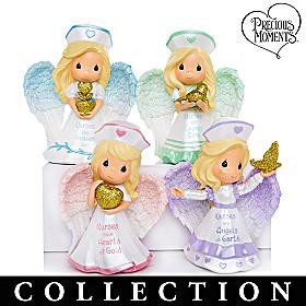 Precious Moments Nurses Are Heaven Sent Figurine Collection