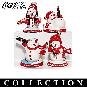 Share A COKE And A Smile Figurine Collection