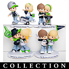 Precious Moments Seahawks Pride Figurine Collection