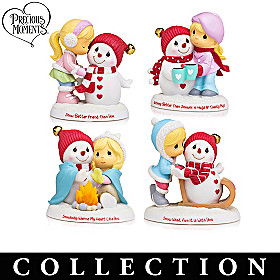 Precious Moments Snow Buddies Figurine Collection