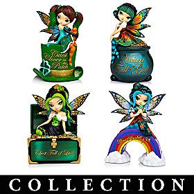 A Fairy Lucky Irish Figurine Collection