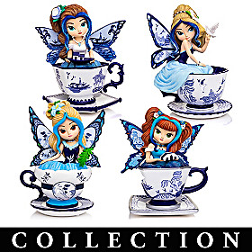 Blue Willow Romance Figurine Collection