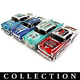 Chevy Bel Air Commemorative Replica Sculpture Collection