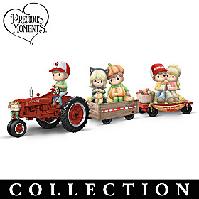 All Aboard The Happy Hayride Figurine Collection