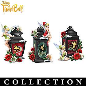 Disney Tinker Bell Christmas Magic Lantern Collection