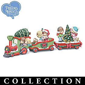 All Aboard The Christmas Express Figurine Collection
