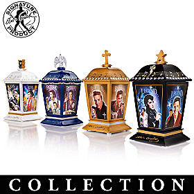 The Many Sides Of Elvis Lantern Collection