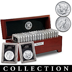 San Francisco Morgan And Peace Silver Dollar Collection