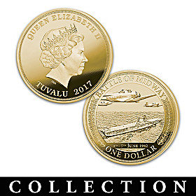 World's Greatest Naval Battles Coin Collection