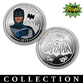 The BATMAN Classic TV Series Proof Coin Collection
