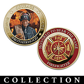 The Portraits Of Bravery Coin Collection