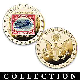 The World's Rarest Stamps Proof Coin Collection
