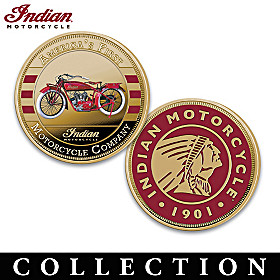 Indian Motorcycle Proof Coin Collection