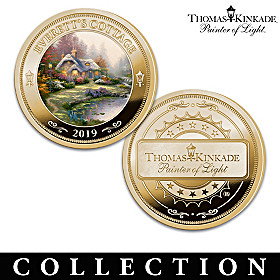 The First-Ever Thomas Kinkade Proof Coin Collection