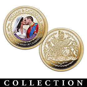 The Duke And Duchess Of Cambridge Proof Coin Collection