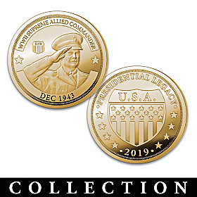 The Dwight D. Eisenhower Legacy Proof Coin Collection