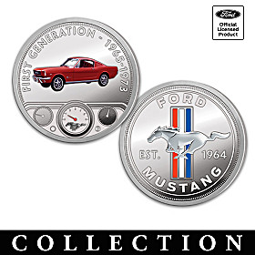 The Official Ford Mustang Proof Coin Collection