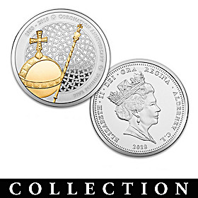 The Queen's Sapphire Coronation Jubilee Coin Collection