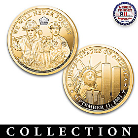 The 20th Anniversary Of September 11th Proof Coin Collection