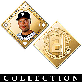 The Derek Jeter Legacy Minted Tribute Collection