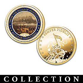 The Marines' Hymn USMC Proof Collection