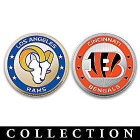 The Complete NFL Challenge Coin Collection