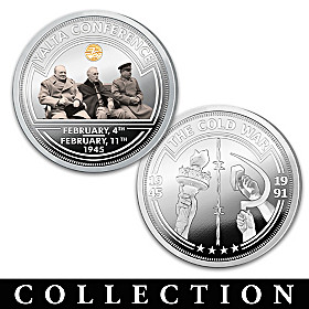 The 75th Anniversary Of The Cold War Proof Coin Collection