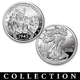 The Walking Liberty War Years Coin Collection