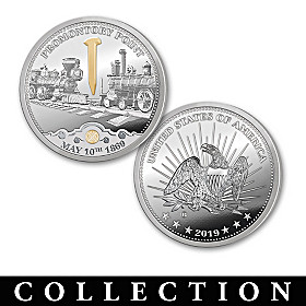 The Transcontinental Railroad Proof Coin Collection