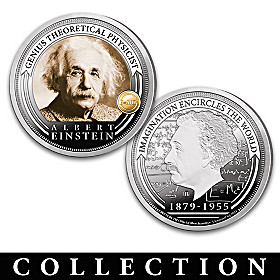 The Einstein Legacy Proof Coin Collection